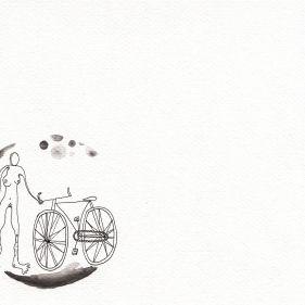 Numme et sa bicyclette