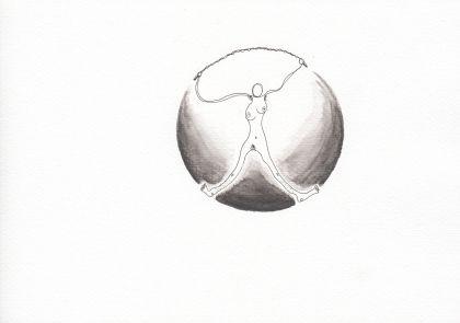Numme qui fait de la corde à sauter