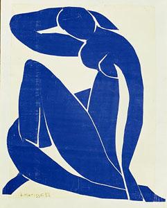 Nu bleu II - Matisse